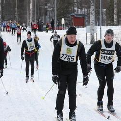 Skiing 90 km - Per Ringvall (7765), David Smed (11226), Mikael Johansson (14746)
