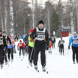 Skiing 90 km - Magnus Johansson (5483), Jari Tuomela (12200)