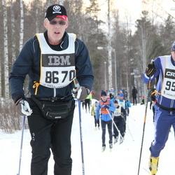 Skiing 90 km - Matz Olof Johansson (8670), Christer Holmlund (9598)