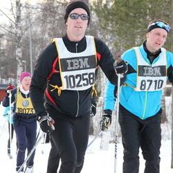 Skiing 90 km - Andreas Åhnstrand (8710), Kristian Winter (10258)