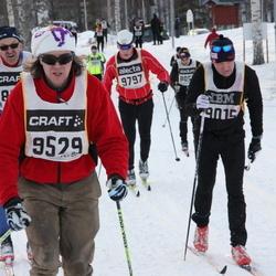 Skiing 90 km - Björn Forsberg (9015), Mats Finn (9529), Roar Steffensen (9797)