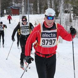 Skiing 90 km - Fredrik Hellner (8059), Roar Steffensen (9797)
