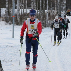 Skiing 90 km - Anders Frisinger (8226), Mikael Johnson (11435)