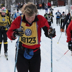 Skiing 90 km - Lisa Holmqvist (17970), Christina Holmberg (18123)