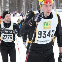 Skiing 90 km - Henrik Siösteen (9342), Johan Lundgren (12776)
