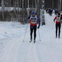 Skiing 90 km - Bjarte Liseth (15380), Tomas Kuchta (15413)