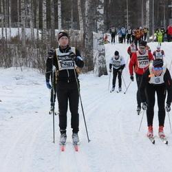 Skiing 90 km - David Löfsjögård (15607)