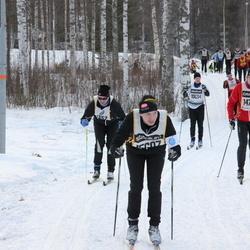 Skiing 90 km - Björn Rask (10191), David Löfsjögård (15607)