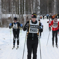 Skiing 90 km - Jan Lehrmann (14729), David Löfsjögård (15607)