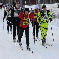 Skiing 90 km - Carola Kiehn (17802)
