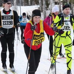 Skiing 90 km - Erik Lundberg (13398), Carola Kiehn (17802)