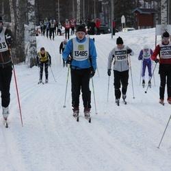 Skiing 90 km - Mikael Karlsson (8483), Fredrik Eckerström (12898), Thomas Nilsson (12928), Bengt-Elof Nilsson (13485)