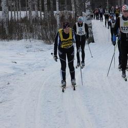Skiing 90 km - Henrik Bjurström (9226), Fredrik Johansson (11171)