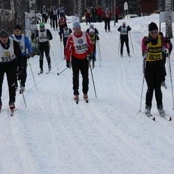 Skiing 90 km - Peter Rydberg (9351), Jörgen Smeds (9839), Elin Eriksson (18699)