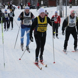 Skiing 90 km - Rune Haug (8863), Bo Persson (12721), Torbjörn Olsson (15009), Tina Lundberg (17667)