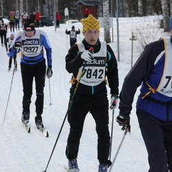 Skiing 90 km - Mikael Nytomt (7683), Per Larsson (7842), Anders Thulin (12927)