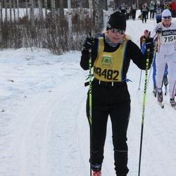 Skiing 90 km - David Karlsson (7154), Malin Lundberg (18482)