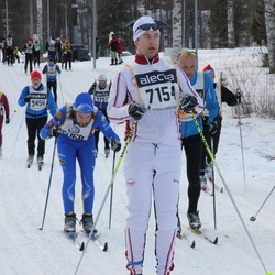 Skiing 90 km - David Karlsson (7154), Niklas Gustafsson (9170)