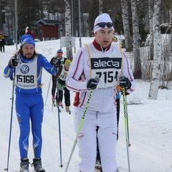 Skiing 90 km - David Karlsson (7154), Anton Göransson (15168)