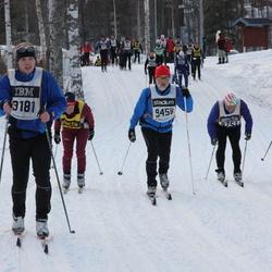 Skiing 90 km - Krister Hägg (9181), Åke Jonsson (9456)