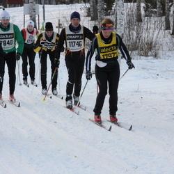 Skiing 90 km - Volker Grundmann (11746), Magnus Kneck (14955), Eva Nilsson (17972)