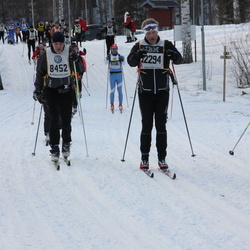 Suusatamine 90 km - Arne Johansson (8452), Anton Hedlund (12156), Peter Ledstam (12294)