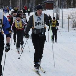 Skiing 90 km - Arne Johansson (8452), Henrik Pehrson (9412)