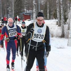 Skiing 90 km - Gudmundur B. Gudmundsson (8399), Henrik Lönn (9820)