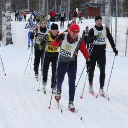 Skiing 90 km - Alberto Cortellini (12599), Karolina Olsson (18849)