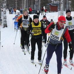 Skiing 90 km - Alberto Cortellini (12599), Nils-Olov Ohlsson (13897), Karolina Olsson (18849)