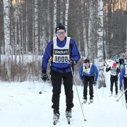 Skiing 90 km - Anders Jalkeus (8000), Johan Larsson (15258)