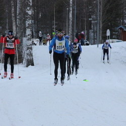 Skiing 90 km - Borivoj Pohl (8782), Axel Schörling (9454)
