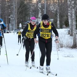 Skiing 90 km - Audun Eilertsen (13334), Jannika Broomé (18216)