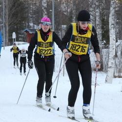 Skiing 90 km - Audun Eilertsen (13334), Jannika Broomé (18216), Anna Larsson (18222)