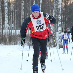 Skiing 90 km - Åke Berggren (11107)
