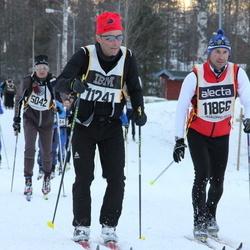 Skiing 90 km - Matteo Cardani (11241), Zeno Mottura (11866)