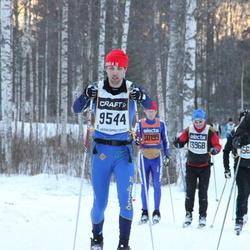 Skiing 90 km - Emil Brandel (9544), Simen Grimeland (13934)