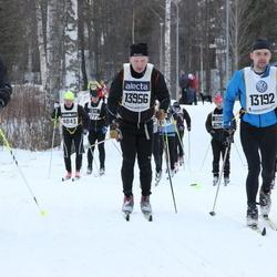 Skiing 90 km - Daniel Ulvebro (13192), Thomas Kaponen (13956), Erik Olegård (15917)