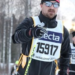 Skiing 90 km - Erik Olegård (15917)