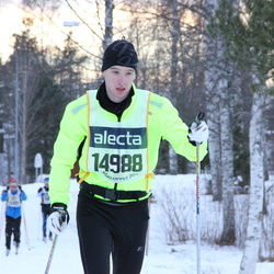 Skiing 90 km - Christian Jensen-Gaard (14988)