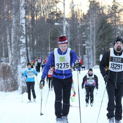 Skiing 90 km - Henrik Karlsson (9275), Thomas Bergström (13291)