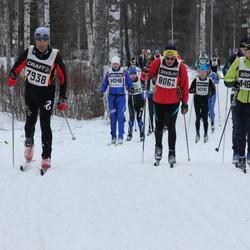 Skiing 90 km - Emanuele Panza (7938), Jan Vadlejch (8062), David Israelsson (14861)