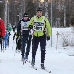 Skiing 90 km - Jan Vadlejch (8062), David Israelsson (14861)