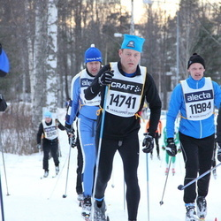Skiing 90 km - Ulf Arenlind (11984), Jan-Olof Johansson (14741)