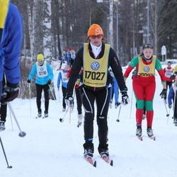 Skiing 90 km - Eva Ekelöf (17027)