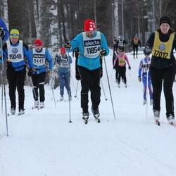 Skiing 90 km - Axel Byrmo (7246), Mats Daniels (11854), Jan Edvardsson (15048), Åsa Larsson (17012)