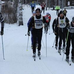 Skiing 90 km - Christoffer Svensson (7385), Miroslav Koubek (11266), Andrea Orso (13868), Niklas Harrysson (14575)