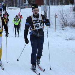 Skiing 90 km - Andrea De Bernochi (9830), Juha Lahti (14747)