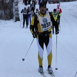 Skiing 90 km - Andrea De Bernochi (9830)