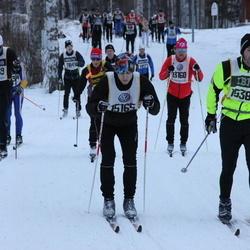 Skiing 90 km - Anders Svensson (15165), Daniel Vestman (15383)